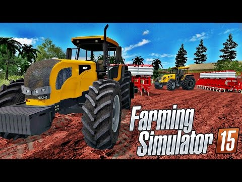 Trator Valtra BH 210 Patinando Na Lama (Mapa Fazenda Condor) - Farming Simulator 15 Multiplayer