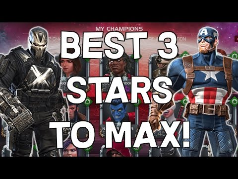 Best 3 Star Characters To Max! - Patch 12.0 - Marvel Contest Of Champions