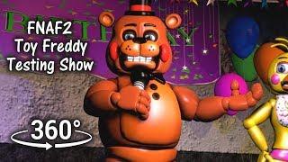 360°| Toy Freddy testing show 1987 [FNAF/SFM] (VR Compatible)