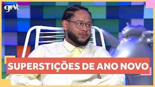 Superstições de Ano Novo e a mistura de crenças do brasileiro | Papo Rápido | Papo de Segunda