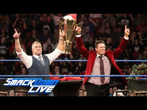 Shane McMahon agrees to be The Miz's tag team partner: SmackDown LIVE, Dec. 25, 2018