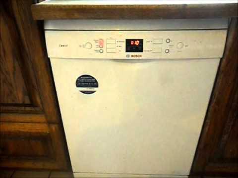 Bosch Exxcel dishwasher eco cycle - YouTube