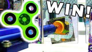 Fidget Spinner Arcade Win!