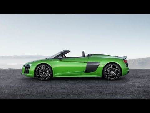 Audi R8 Spyder V10 Plus Convertible