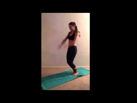 Tatiana Donskova Fitness Audition
