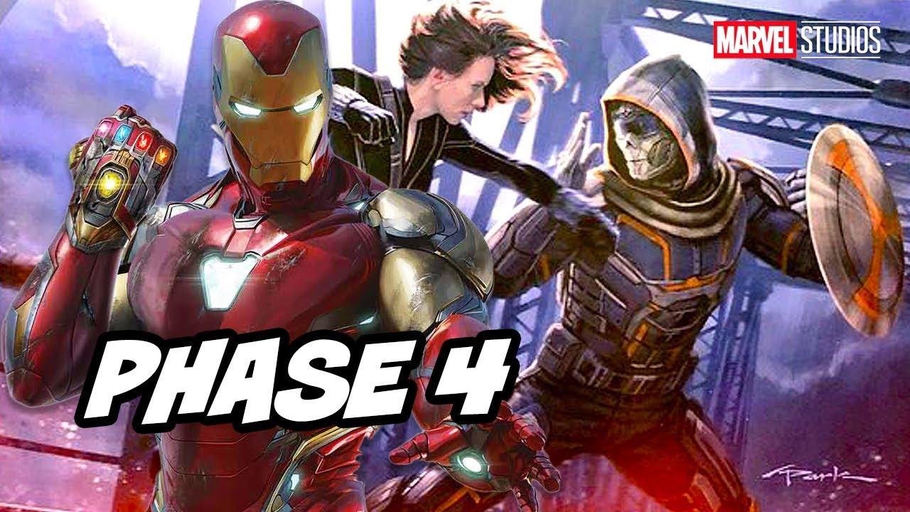 Black Widow Teaser Why Marvel Revealed Iron Man Marvel Phase 4