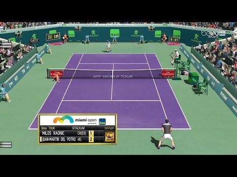 Raonic vs Del Potro  | R3 Masters 1000 de Miami  | Ép.89 Tennis Elbow 2013