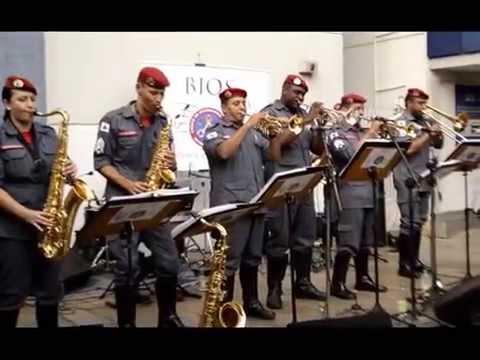 BIOS - Bombeiro Instrumental Orquestra Show em Leopoldina