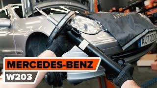Sostituzione Kit ammortizzatori MERCEDES-BENZ C-CLASS: manuale tecnico d'officina