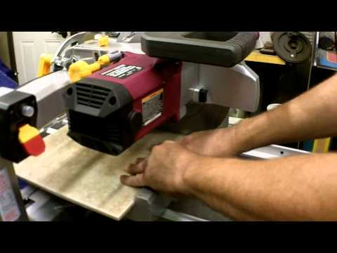 "Part 2-2 Harbor Freight 10"" 2.5 HP Tile/Brick Saw Review Item 69275"