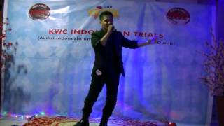 KWC Indonesian Trial 2014 - Inul Vizta Bangka - Angga (The Greatest Love Of All)