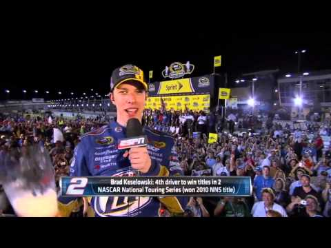 Brad Keselowski Drunk During Interview on SportsCenter