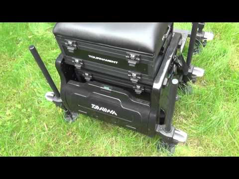 Diawa NEW Tournament 400 Seat Box Review