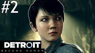 Detroit: Become Human Part 2 ENDING Gameplay Walkthrough PS4 Pro Livestream