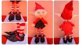Duende mágico | fofucho navideño | Cuentos y leyendas - Parte 2/3 cuerpo, piernas y zapatos