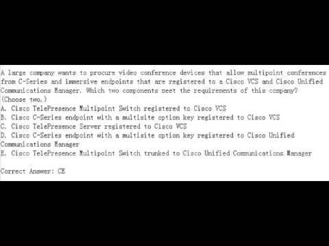 Cisco 210-065 Certification Exam Questions and Practise
