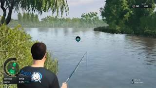 Euro Fishing Manor Farm Lake Gameplay  #2 (PC game) New DLC 2017