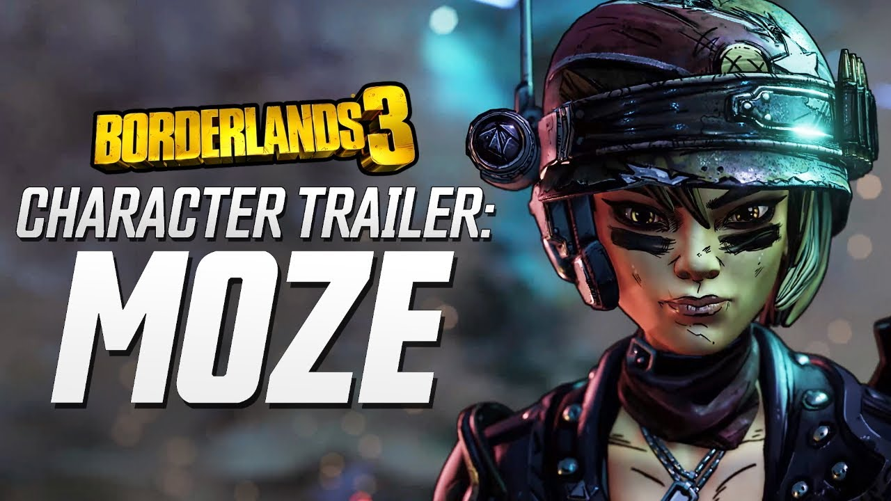 "Borderlands 3 - Moze Character Trailer: ""The BFFs"" thumbnail"