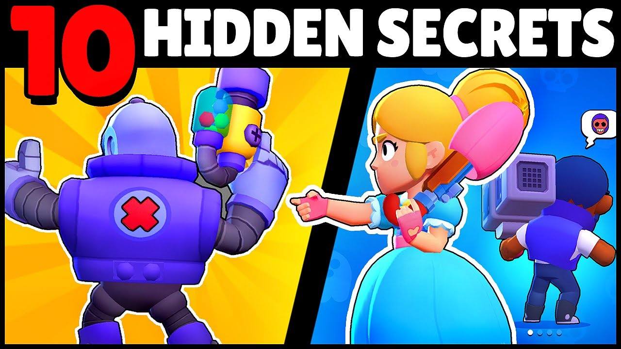 🚨 10 SECRET CHANGES & BUGS YOU MISSED! in this Brawl Stars #Starrpark update