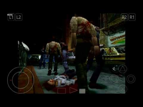 ePSXe Emulator 1.9.15 for Android | Resident Evil 2: Dual Shock Ver. [720p HD] | Sony PS1