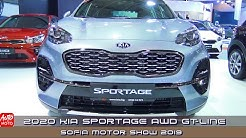 2020 Kia Sportage AWD GT-Line - Exterior And Interior - Sofia Motor Show 2019