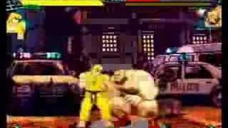 Marvel Super Heroes vs Street Fighter gameplay 1