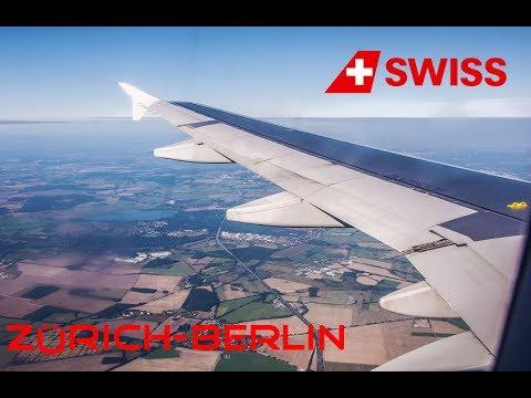 Swiss Tripreport Zürich to Berlin Tegel | LX976 | Economy Class | A320 |