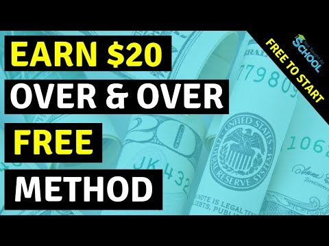 Earn $20 Over And Over - Make Money Online