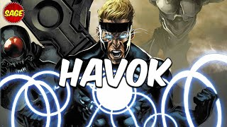 "Who is Marvel's Havok? Virtually a ""Living Star."""
