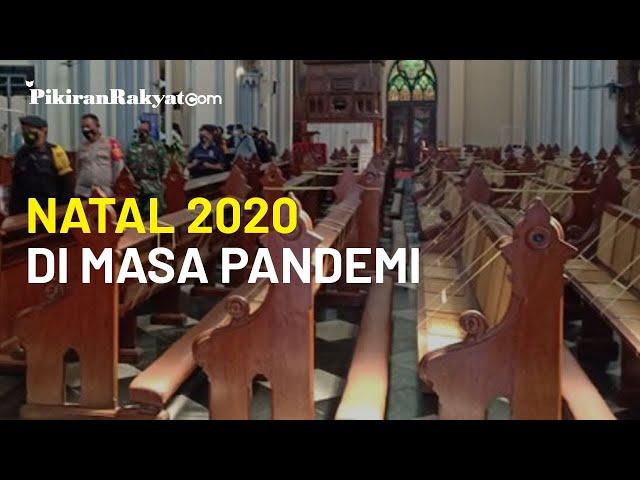 Malam Natal 2020 di Masa Pandemi Virus Corona Covid-19: Gereja Katedral Tidak Siapkan Air Suci