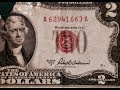 Gambar cover Red Seal Two Dollar Bills- 1953 Series A