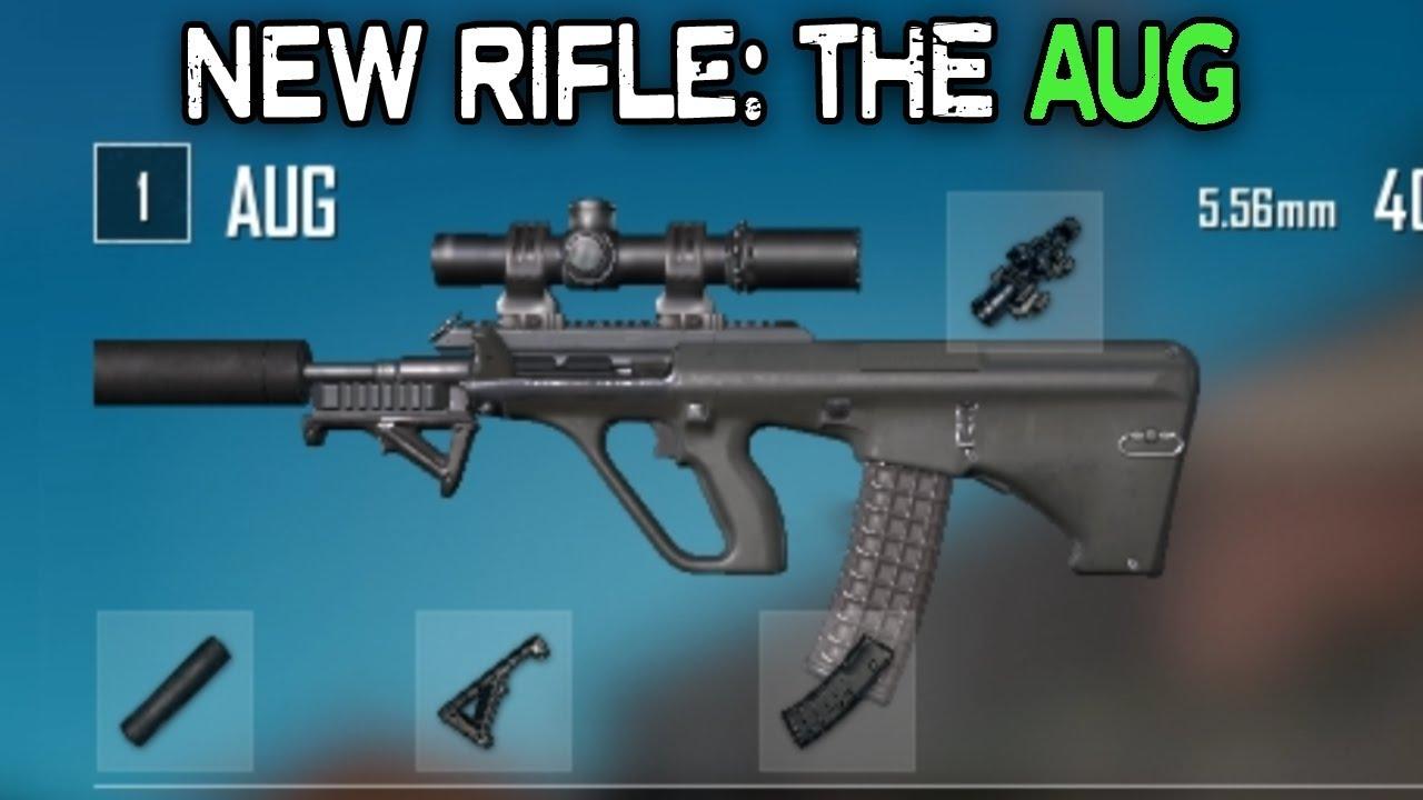 Pubg New Rifle The Aug A All Attachments