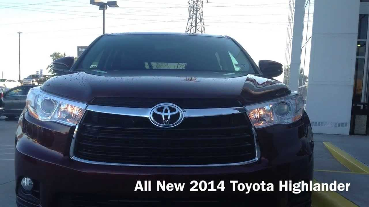 The All New 2014 Toyota Highlander At Toyota Of Plano