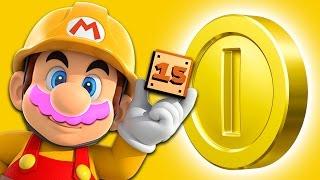 NO CURSING CHALLENGE!! | Mario Maker #15