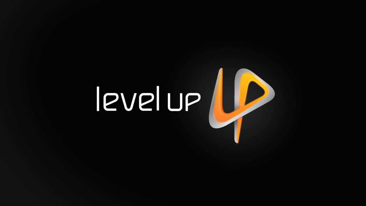 level up logo youtube