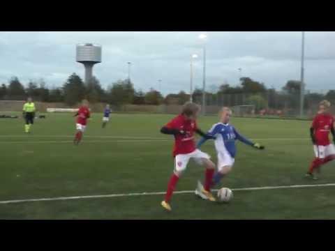 U13 Drenge Øst 2 Helsinge Fodbold - Lyngby BK (2-3) 12.10.2016