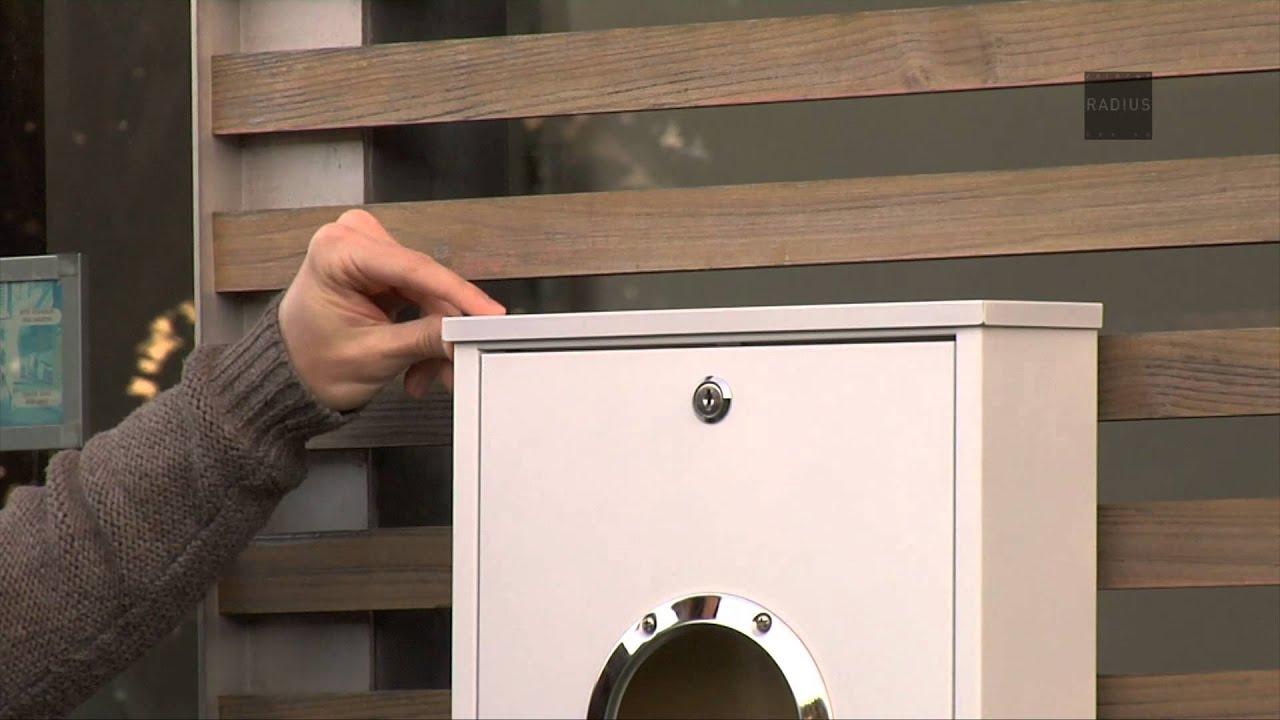 Letterman Briefkasten briefkasten letterman mini radius design