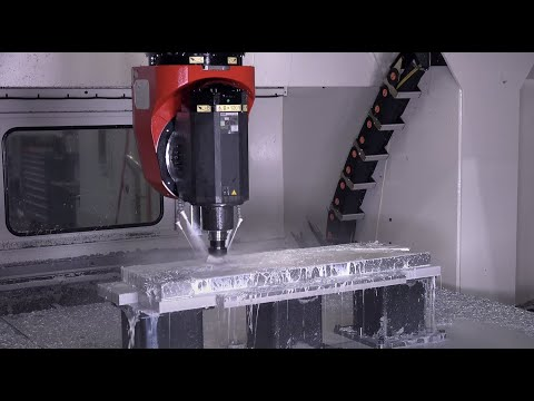 A year after purchasing the HM-Series 5-Axis Milling Center - Aerospace Fabrications of Georgia -