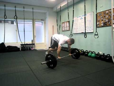 Barbell Burpees