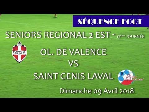2018_04_04 Séquence Foot - SR2 17ème journée - OV vs ST Genis Laval