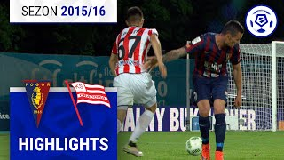Pogoń Szczecin - Cracovia 3:2 [skrót] sezon 2015/16 kolejka 36