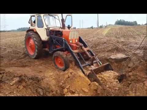 Установка кабины ЮМЗ на МТЗ - YouTube