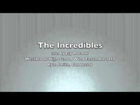 The Incredibles arr. Jay Bocook