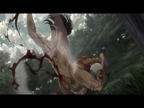 Attack On Titans Season 2「AMV˩ᴴᴰ - Eren VS Armored Titan