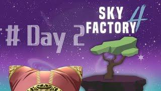 【Minecraft】スカイブロック工業化日誌 #2【SKY FACTORY 4】