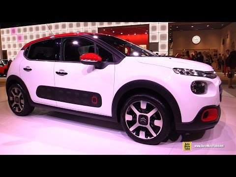 2017 Citroen C3 - Exterior and Interior Walkaround - Debut at 2016 Paris Motor Show