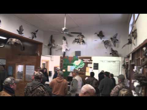 MI DNR Managed Waterfowl Hunt Area: Shiawassee River State Game Area