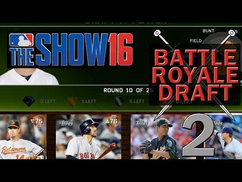 Diamond Dynasty Battle Royale Draft - MLB 16 The Show - Ep. 2 - Tough Decisions