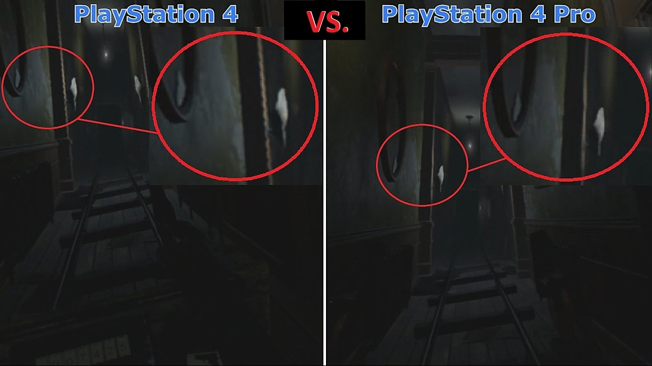 until dawn rush of blood ps4 vs ps4 pro vr graphics comparison 1080p youtube. Black Bedroom Furniture Sets. Home Design Ideas