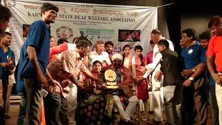World Deaf Day celebration in Ravindra Kalakshetra,  Bangalore